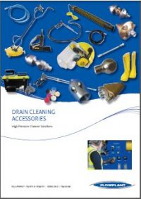 Accessories for Efficient, Safe Drain Jetting