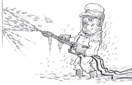 Protect your Jetting Equipment from Frost & Ice