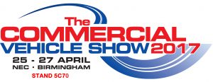 the commercial vehicle show logo ad