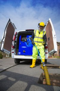 jetter in use